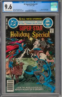 DC Special Series #21 CGC 9.6 (OW-W) *1362256008*