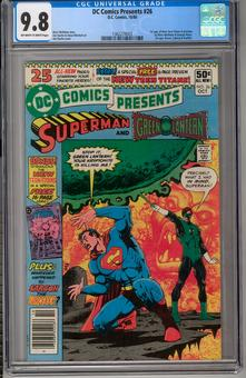 DC Comics Presents #26 CGC 9.8 (OW-W) *1362274003*