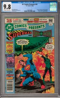 DC Comics Presents #26 CGC 9.8 (OW-W) *1362274004*
