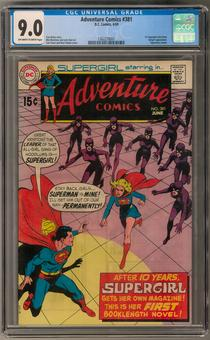 Adventure Comics #381 CGC 9.0 (OW-W) *1362278001*