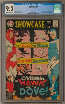 Showcase #75 CGC 9.2 (OW-W) *1362278009*