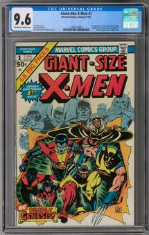 Giant-Size X-Men #1 CGC 9.6 (OW-W) *1362279001*