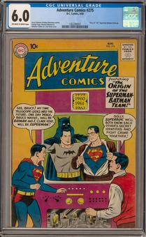 Adventure Comics #275 CGC 6.0 (OW-W) *1362280001*