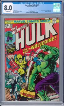 Incredible Hulk #181 CGC 8.0 (OW) *1362283001*