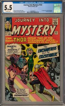 Journey Into Mystery #103 CGC 5.5 (OW) *1362285011*