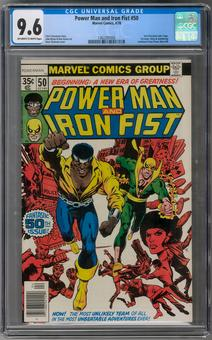 Power Man and Iron Fist #50 CGC 9.6 (OW-W) *1362297005*