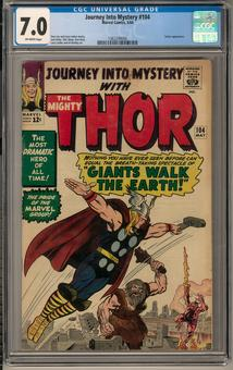 Journey Into Mystery #104 CGC 7.0 (OW) *1362299006*