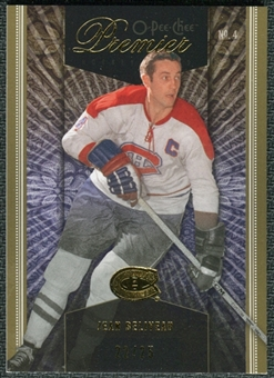 2009/10 Upper Deck OPC Premier Gold #24 Jean Beliveau /25