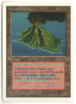 Magic the Gathering Unlimited Single Volcanic Island - NEAR MINT (NM)