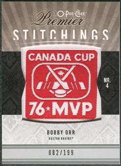 2009/10 Upper Deck OPC Premier Stitchings #PSBO Bobby Orr /199