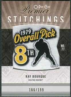 2009/10 Upper Deck OPC Premier Stitchings #PSRB Ray Bourque /199