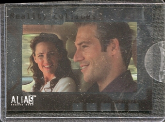 2006 InkWorks Alias Season Four Box Loaders #CL1 Realities Collide Case Topper Insert