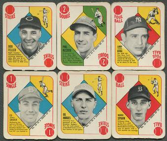 1951 Topps Red Back Baseball Partial Set (VG) (51/52)