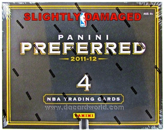 2011/12 Panini Preferred Basketball Hobby Box (Slightly Damaged)