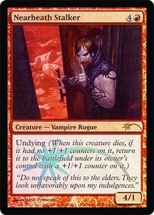 Magic the Gathering Promo Single Nearheath Stalker Foil