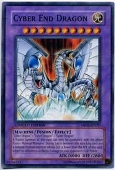 Yu-Gi-Oh Promo Single Cyber End Dragon Rare MF02