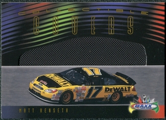 2000 Upper Deck Maxx Collectible Covers #CCMK Matt Kenseth