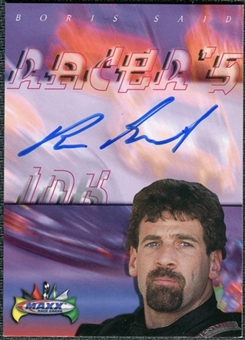 2000 Upper Deck Maxx Racer's Ink #SD Boris Said Autograph