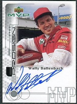 1999 Upper Deck ProSign #WDR Wally Dallenbach Silver Autograph
