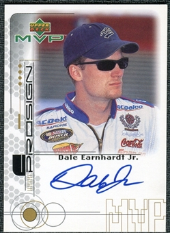 1999 Upper Deck ProSign #JRH Dale Earnhardt Jr. Gold Autograph