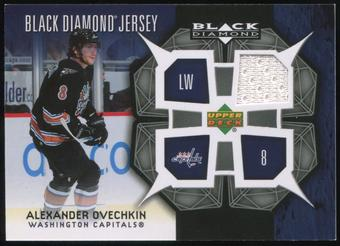 2007/08 Upper Deck Black Diamond Jerseys #BDJAO Alexander Ovechkin SP