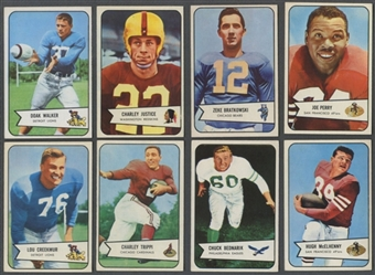 1954 Bowman Football Lot of 25 (23 Different) (EX)