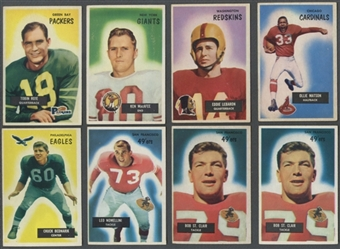 1955 Bowman Football Lot of 49 (42 Different) (VG-EX)