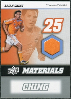 2008 Upper Deck MLS Materials #MM1 Brian Ching