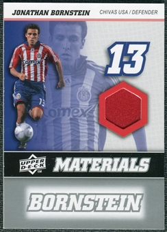 2008 Upper Deck MLS Materials #MM12 Jonathan Bornstein