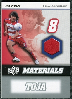2008 Upper Deck MLS Materials #MM15 Juan Toja