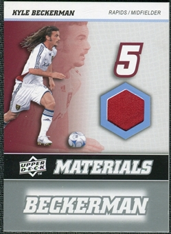 2008 Upper Deck MLS Materials #MM16 Kyle Beckerman