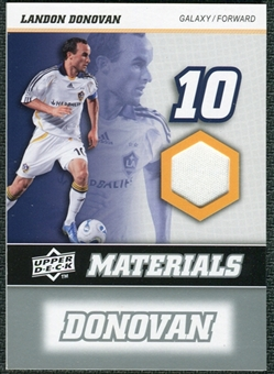 2008 Upper Deck MLS Materials #MM18 Landon Donovan