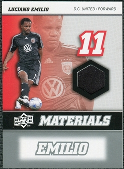 2008 Upper Deck MLS Materials #MM19 Luciano Emilio