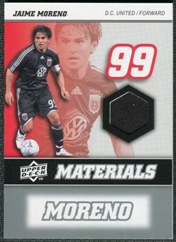 2008 Upper Deck MLS Materials #MM22 Jaime Moreno