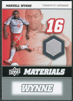 2008 Upper Deck MLS Materials #MM24 Marvell Wynne