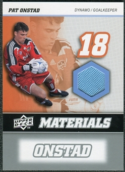 2008 Upper Deck MLS Materials #MM26 Pat Onstad