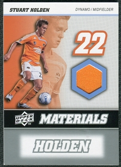 2008 Upper Deck MLS Materials #MM27 Stuart Holden