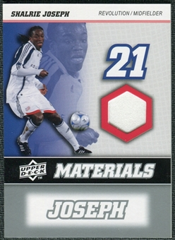 2008 Upper Deck MLS Materials #MM28 Shalrie Joseph