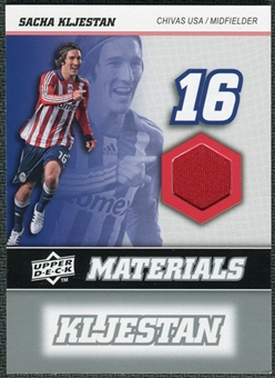 2008 Upper Deck MLS Materials #MM29 Sacha Kljestan