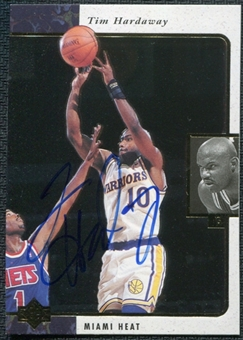 1997/98 Upper Deck SP Authentic BuyBack #12 Tim Hardaway 95-6 Autograph /84