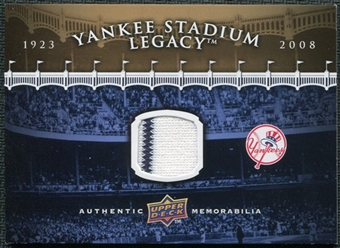 2008 Upper Deck Yankee Stadium Legacy Collection Memorabilia #NNO Yankee Stadium Jersey Goldin Set GUE card