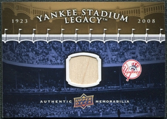2008 Upper Deck Yankee Stadium Legacy Collection Memorabilia #NNO Yankee Stadium Bat Goldin Set GUE card