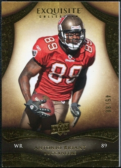 2009 Upper Deck Exquisite Collection #91 Antonio Bryant /80