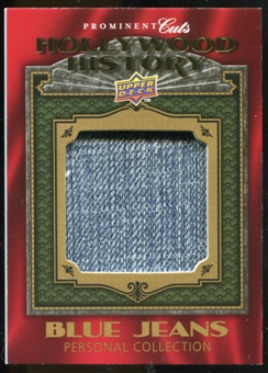2009 Upper Deck Prominent Cuts Hollywood History Relics #HH7 Britney Spears