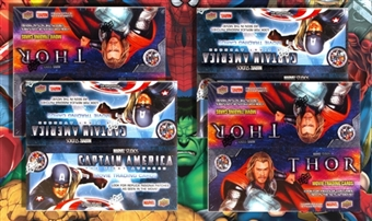 Marvel Studios Movie Trading Cards 4-Box Bundle