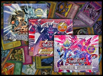 COMBO DEAL - YuGiOh Booster Boxes (Overdrive, Galactic Overlord, Arsenal 5)