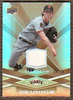 2009 Upper Deck Spectrum Gold Jersey #82 Tim Lincecum /99