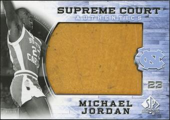 2010/11 Upper Deck SP Authentic Michael Jordan Supreme Court Floor #4 Michael Jordan Common