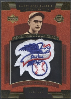 2004 Sweet Spot Classic Patch #JJ Shoeless Joe Jackson AL Patch #005/150