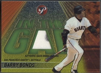 2002 Topps Pristine #BBO Barry Bonds In the Gap Jersey